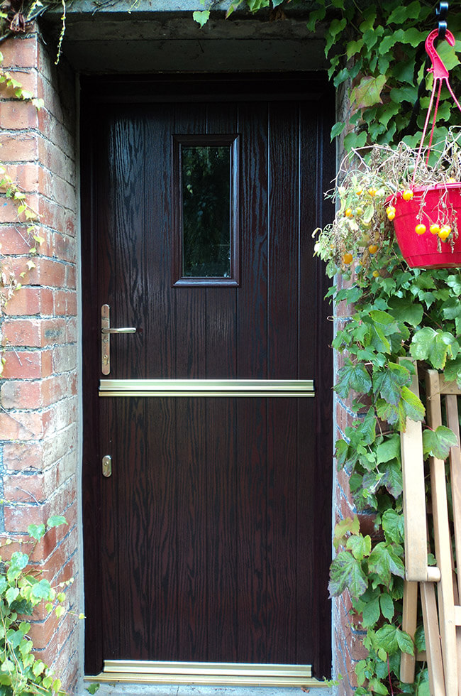 Rosewood composite stable door